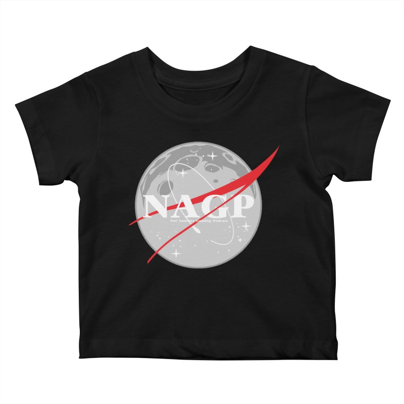 La Luna Kids Baby T-Shirt by The Wicked Good Gaming Shop