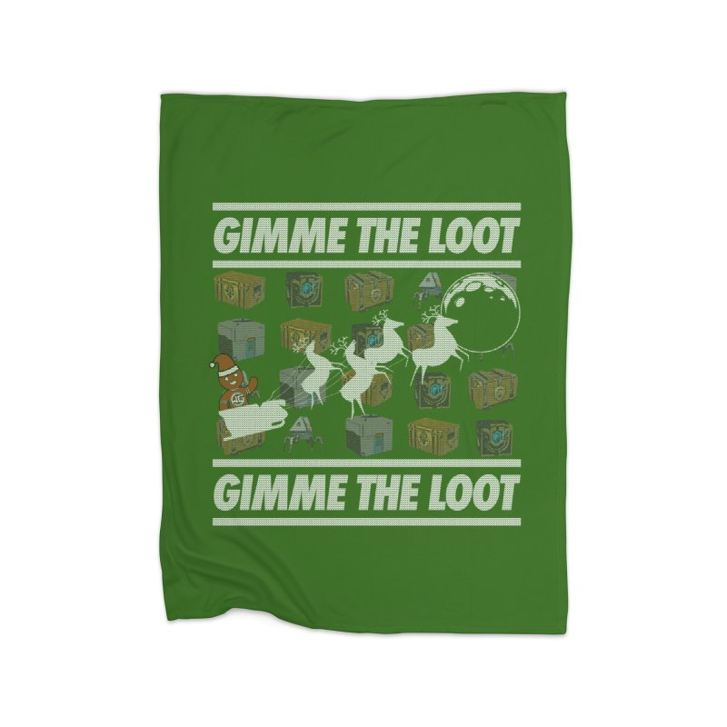 WGG Charity Ugly Sweater 2020 Home Blanket by The Wicked Good Gaming Shop
