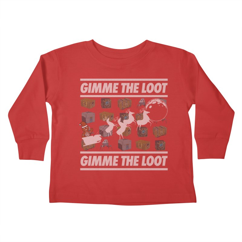 WGG Charity Ugly Sweater 2020 Kids Toddler Longsleeve T-Shirt by The Wicked Good Gaming Shop