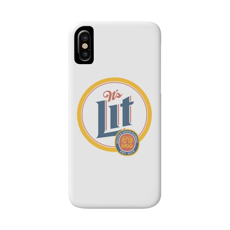 It's Lit Accessories Phone Case by The Wicked Good Gaming Shop