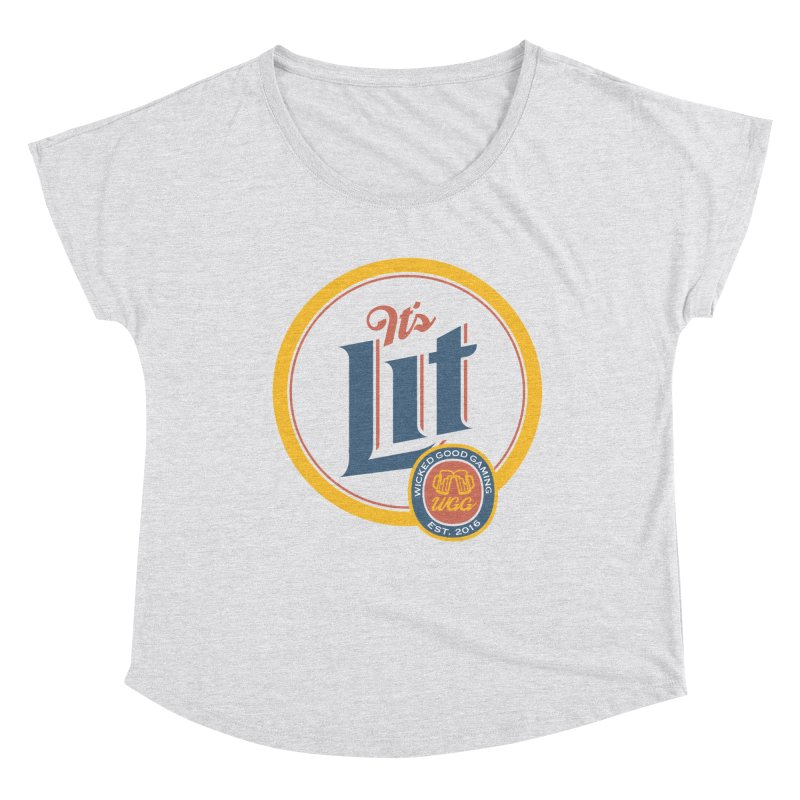It's Lit Women's Scoop Neck by The Wicked Good Gaming Shop