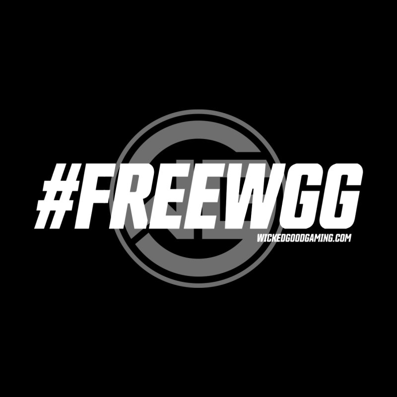 #FREEWGG Men's T-Shirt by The Wicked Good Gaming Shop