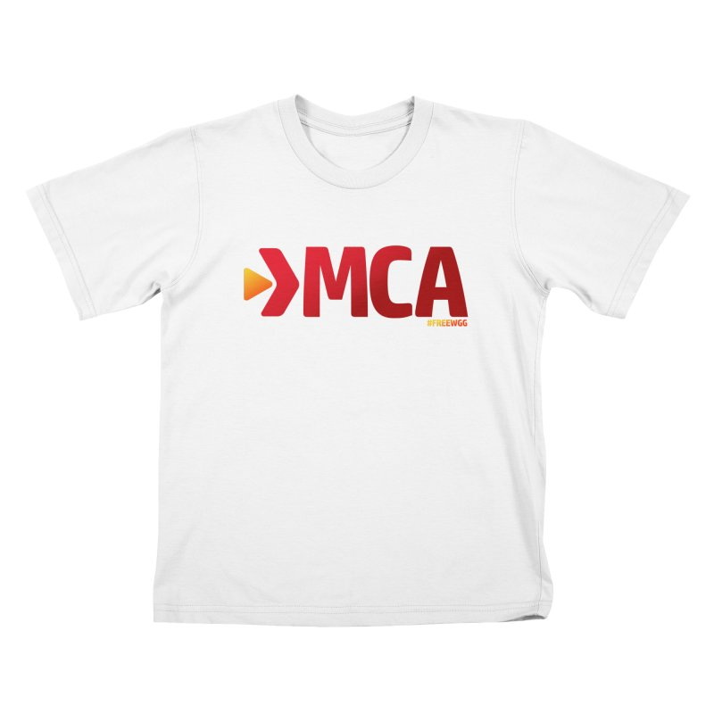 DMCA #FreeWGG Kids T-Shirt by The Wicked Good Gaming Shop