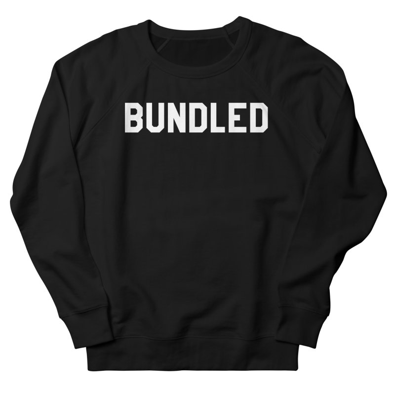 Bundled Women's French Terry Sweatshirt by The Wicked Good Gaming Shop