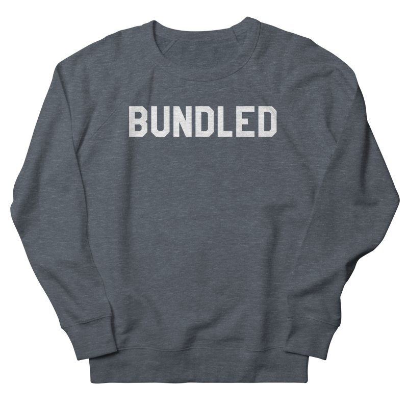 Bundled Men's French Terry Sweatshirt by The Wicked Good Gaming Shop