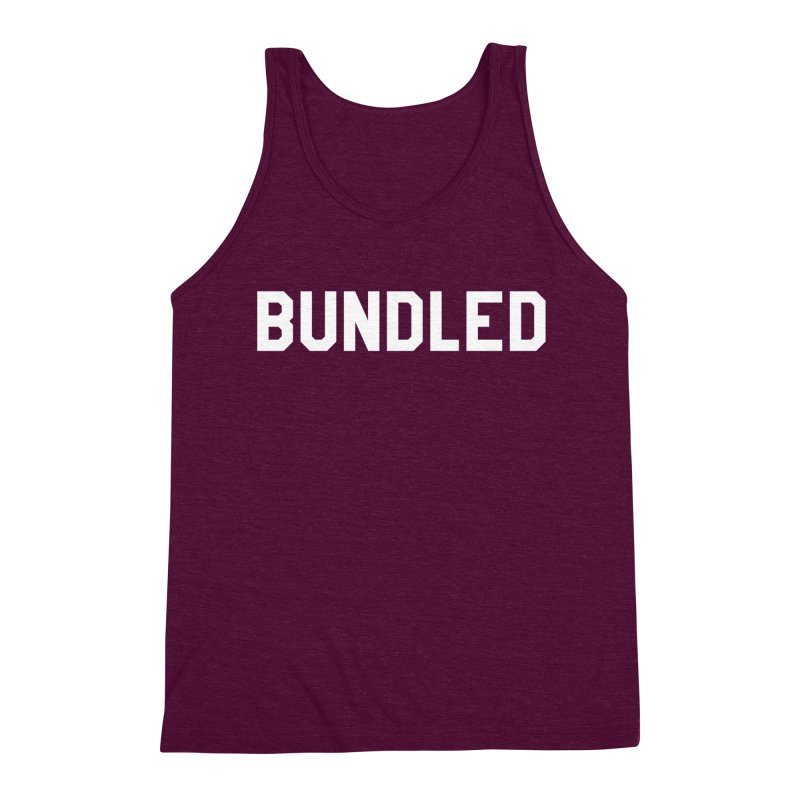 Bundled Men's Triblend Tank by The Wicked Good Gaming Shop