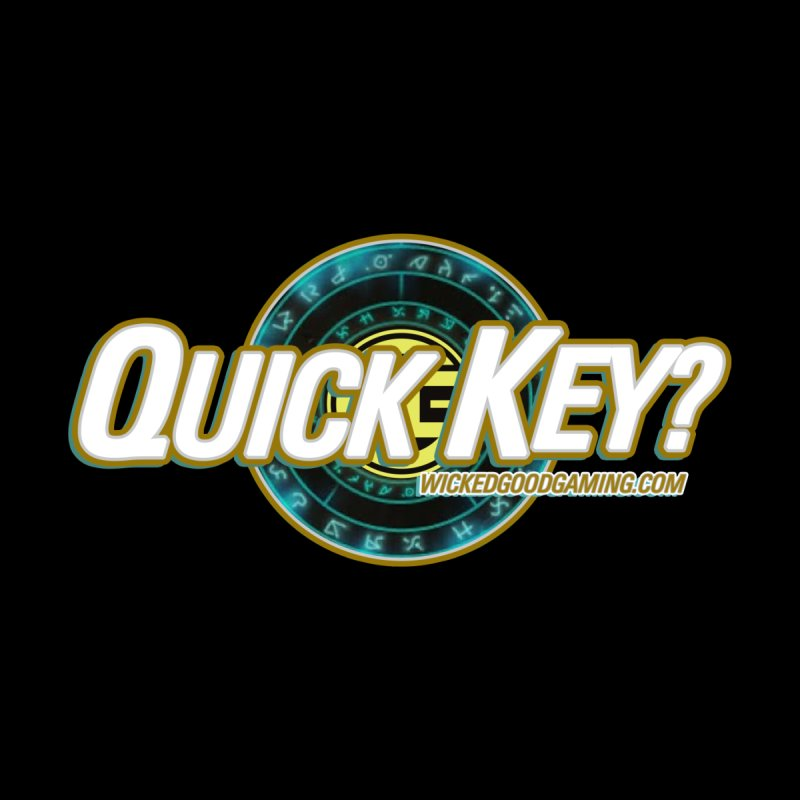 Quick Key? Men's T-Shirt by The Wicked Good Gaming Shop