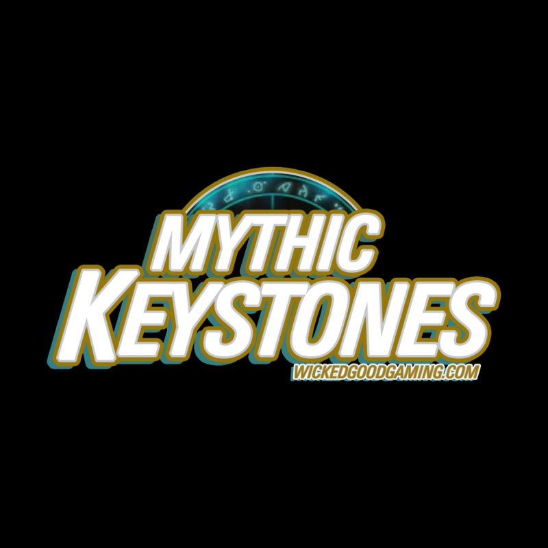 Mythic Keystones Women's Longsleeve T-Shirt by The Wicked Good Gaming Shop