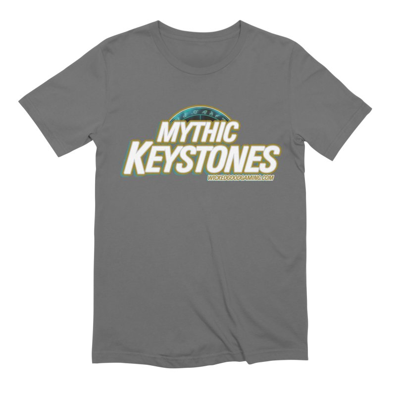 Mythic Keystones Men's T-Shirt by The Wicked Good Gaming Shop