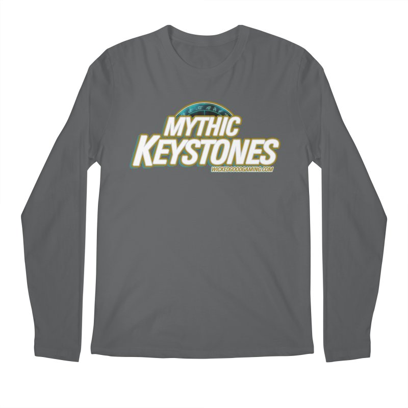 Mythic Keystones Men's Longsleeve T-Shirt by The Wicked Good Gaming Shop