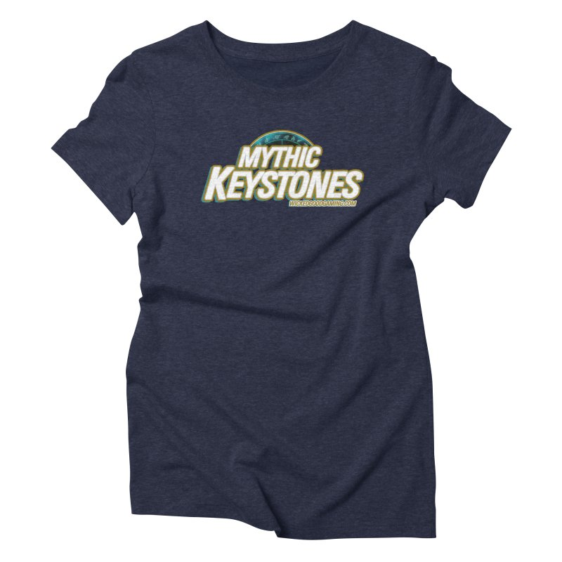 Mythic Keystones Women's T-Shirt by The Wicked Good Gaming Shop