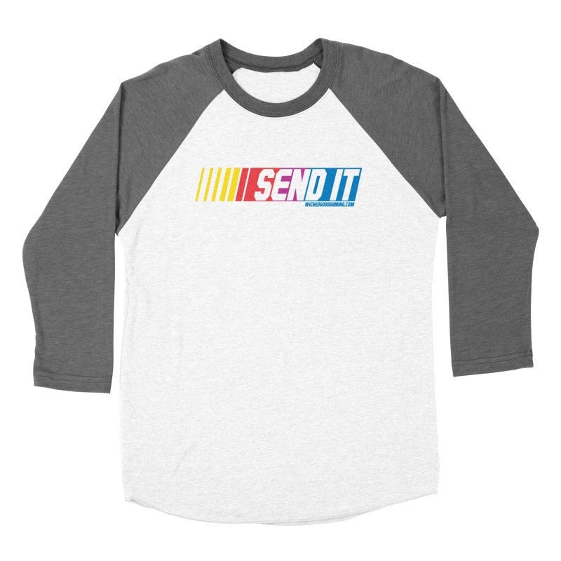 Send It Men's Longsleeve T-Shirt by The Wicked Good Gaming Shop