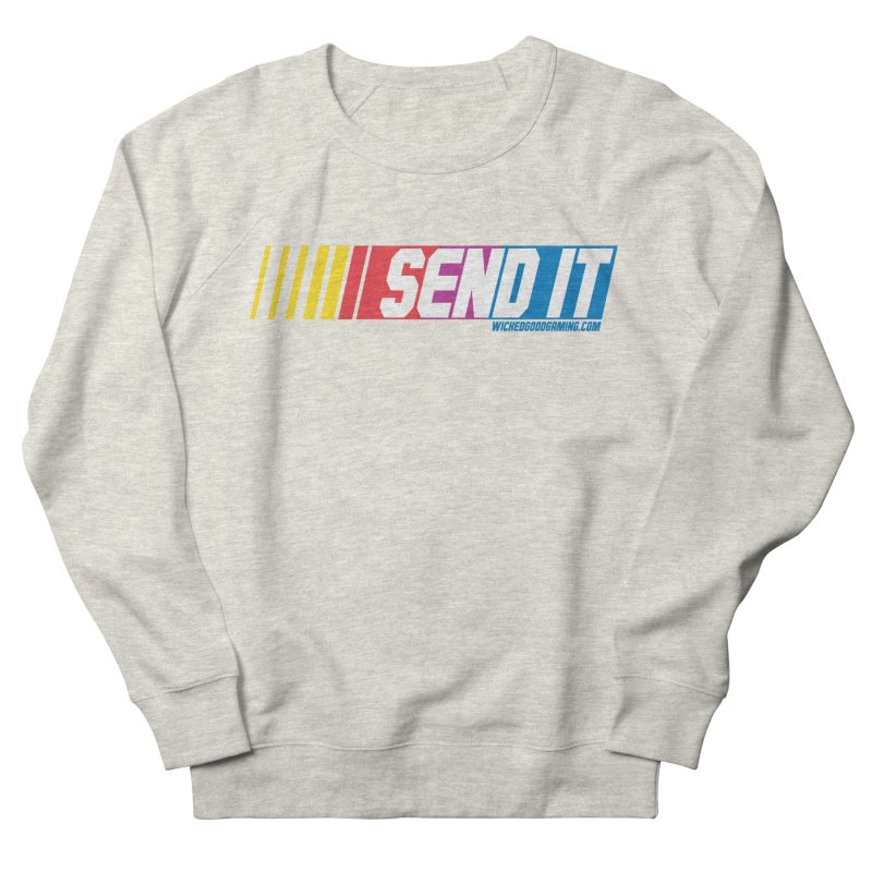 Send It Men's French Terry Sweatshirt by The Wicked Good Gaming Shop