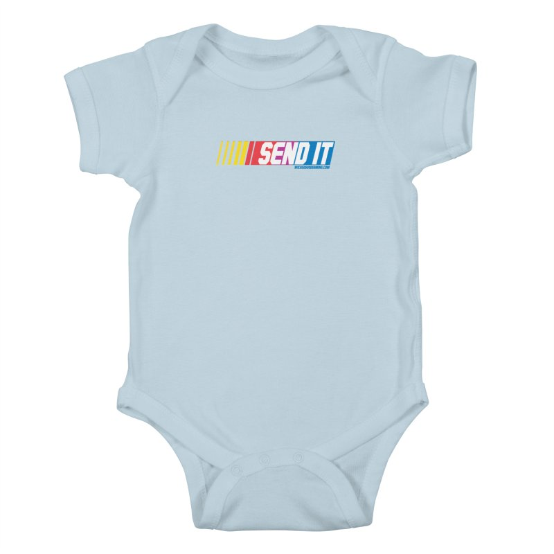 Send It Kids Baby Bodysuit by The Wicked Good Gaming Shop