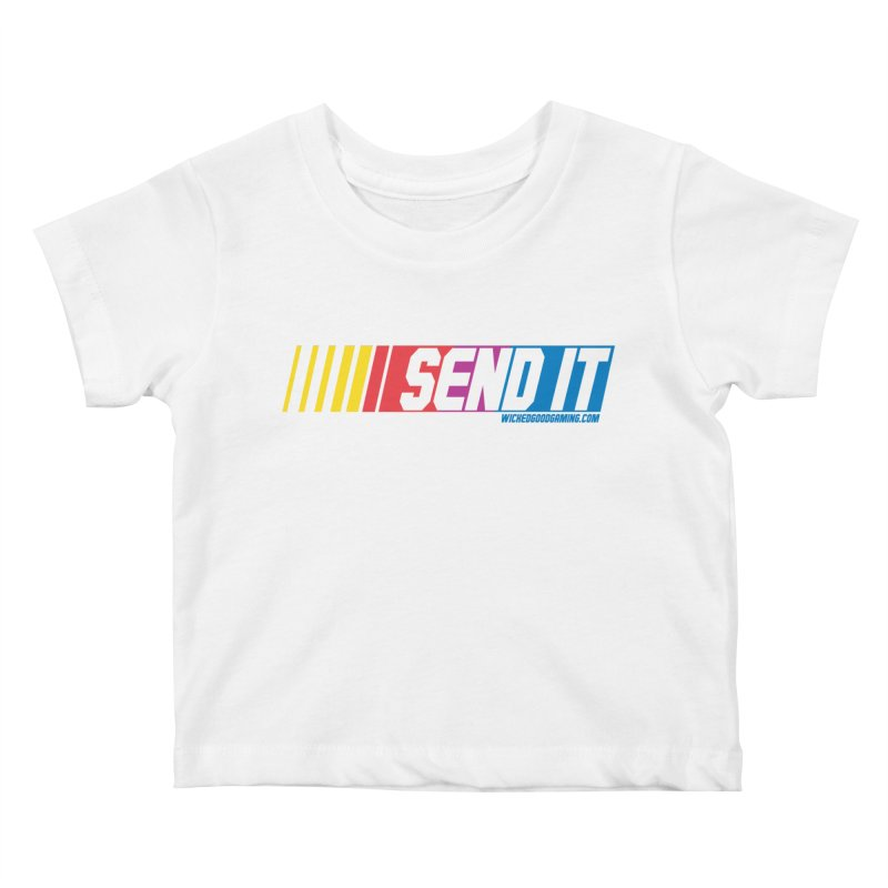 Send It Kids Baby T-Shirt by The Wicked Good Gaming Shop