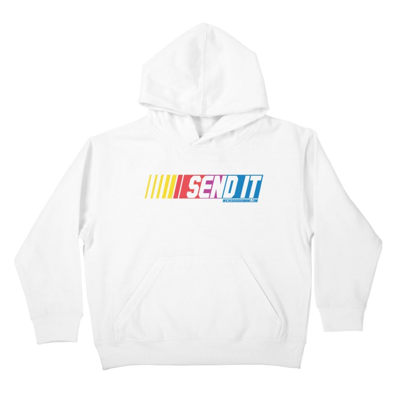 Send It Kids Pullover Hoody by The Wicked Good Gaming Shop