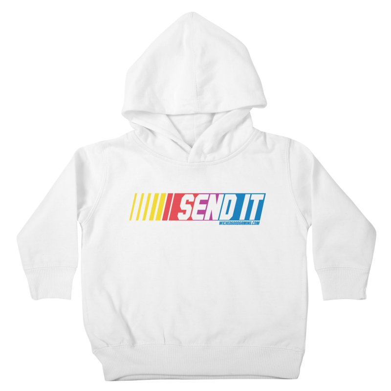 Send It Kids Toddler Pullover Hoody by The Wicked Good Gaming Shop