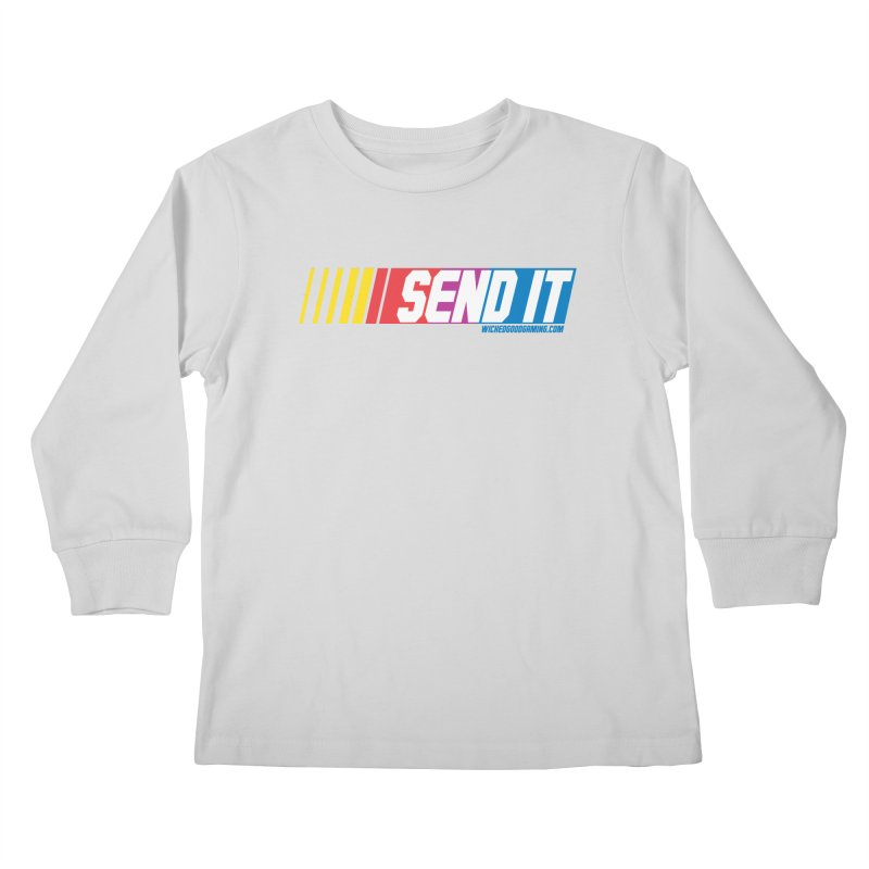 Send It Kids Longsleeve T-Shirt by The Wicked Good Gaming Shop