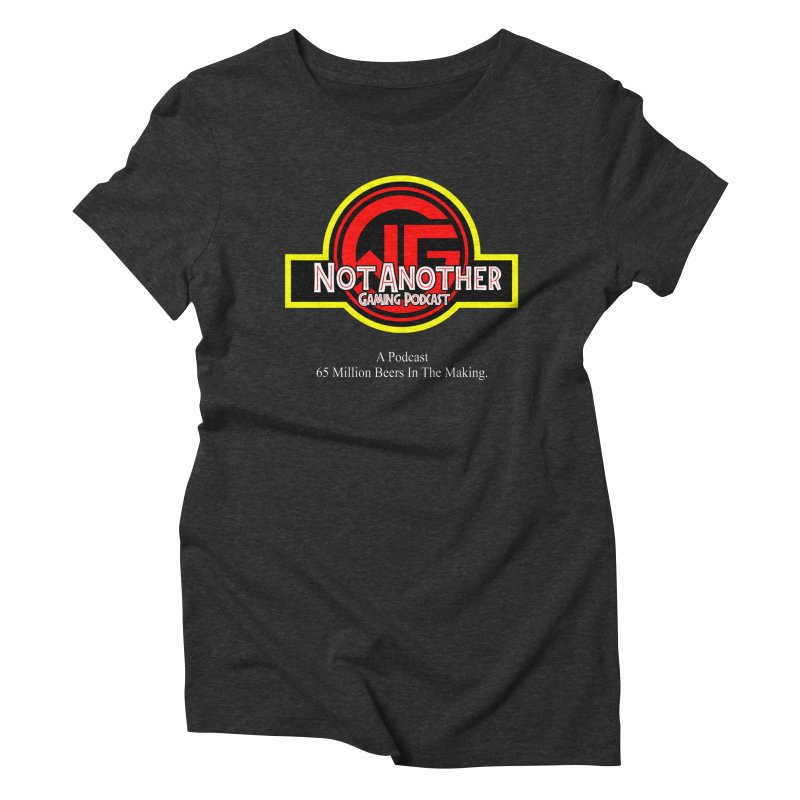 Dino DNA Women's T-Shirt by The Wicked Good Gaming Shop