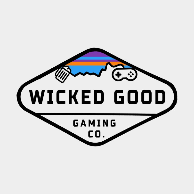 Wicked Outdoorsy Men's Longsleeve T-Shirt by The Wicked Good Gaming Shop