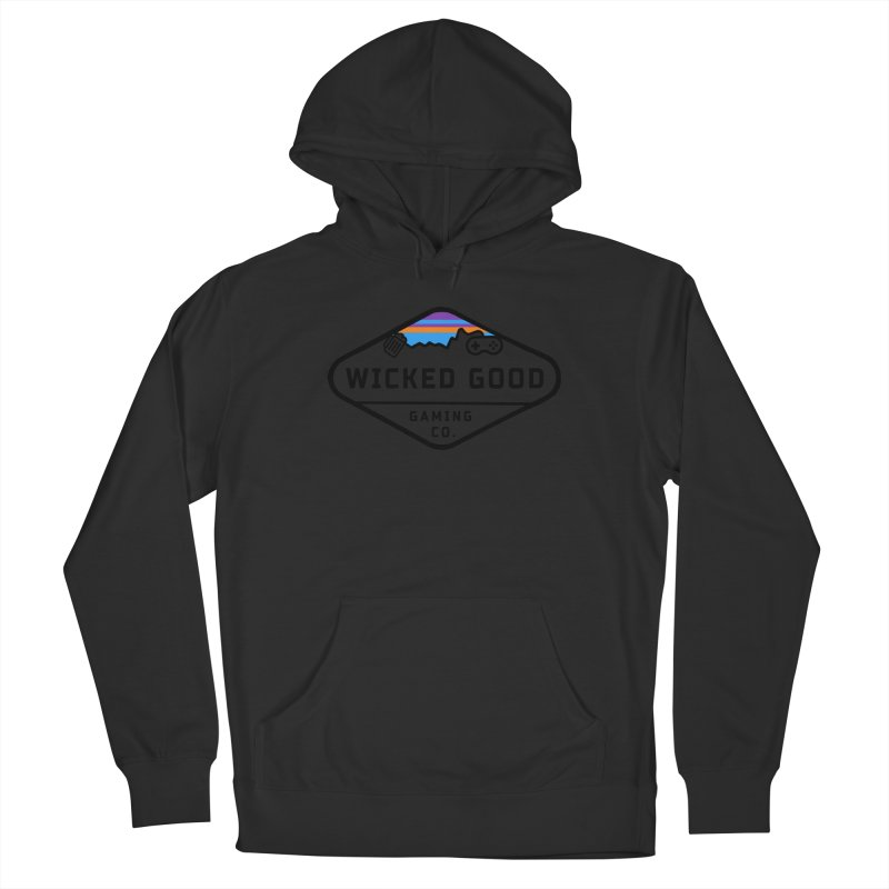 Wicked Outdoorsy Men's Pullover Hoody by The Wicked Good Gaming Shop