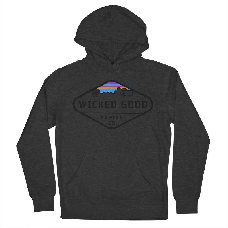 Wicked Outdoorsy Women's French Terry Pullover Hoody by The Wicked Good Gaming Shop