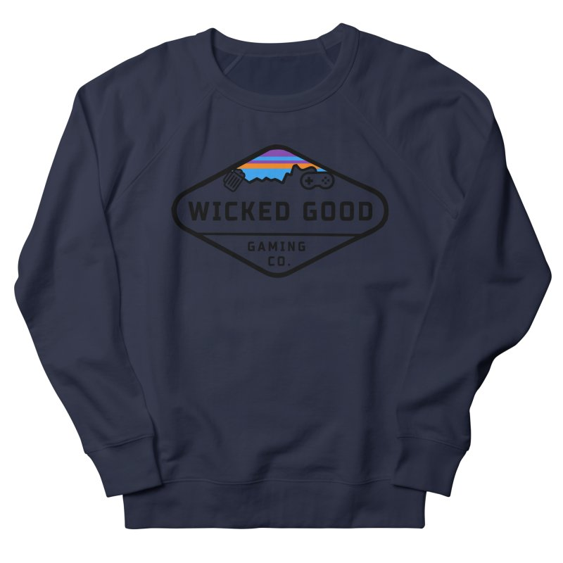 Wicked Outdoorsy Men's French Terry Sweatshirt by The Wicked Good Gaming Shop
