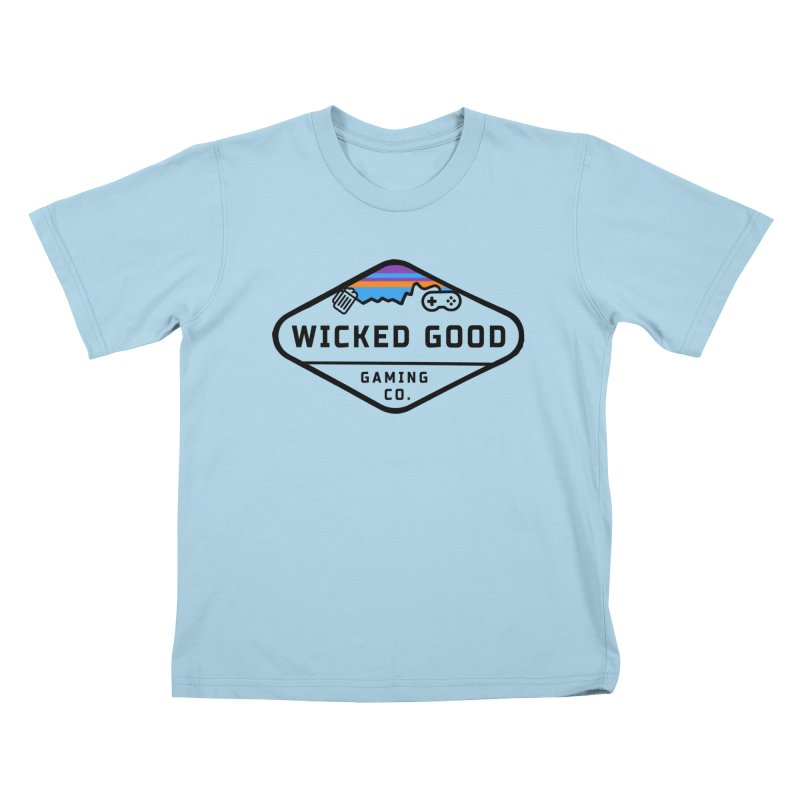 Wicked Outdoorsy Kids T-Shirt by The Wicked Good Gaming Shop