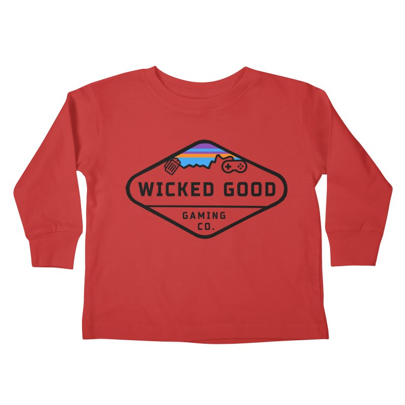 Wicked Outdoorsy Kids Toddler Longsleeve T-Shirt by The Wicked Good Gaming Shop