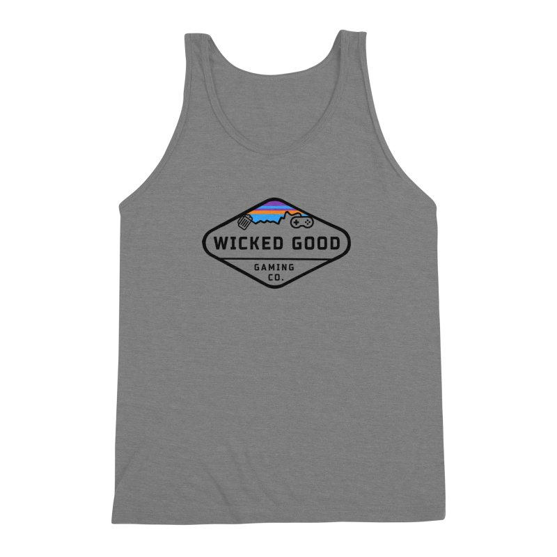 Wicked Outdoorsy Men's Triblend Tank by The Wicked Good Gaming Shop