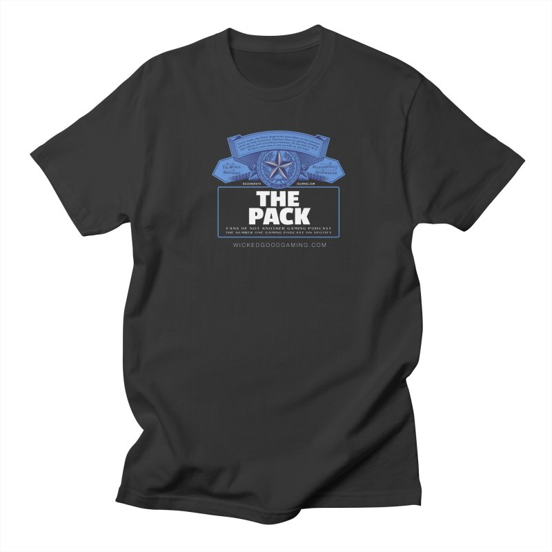 The Pack Women's Regular Unisex T-Shirt by The Wicked Good Gaming Shop