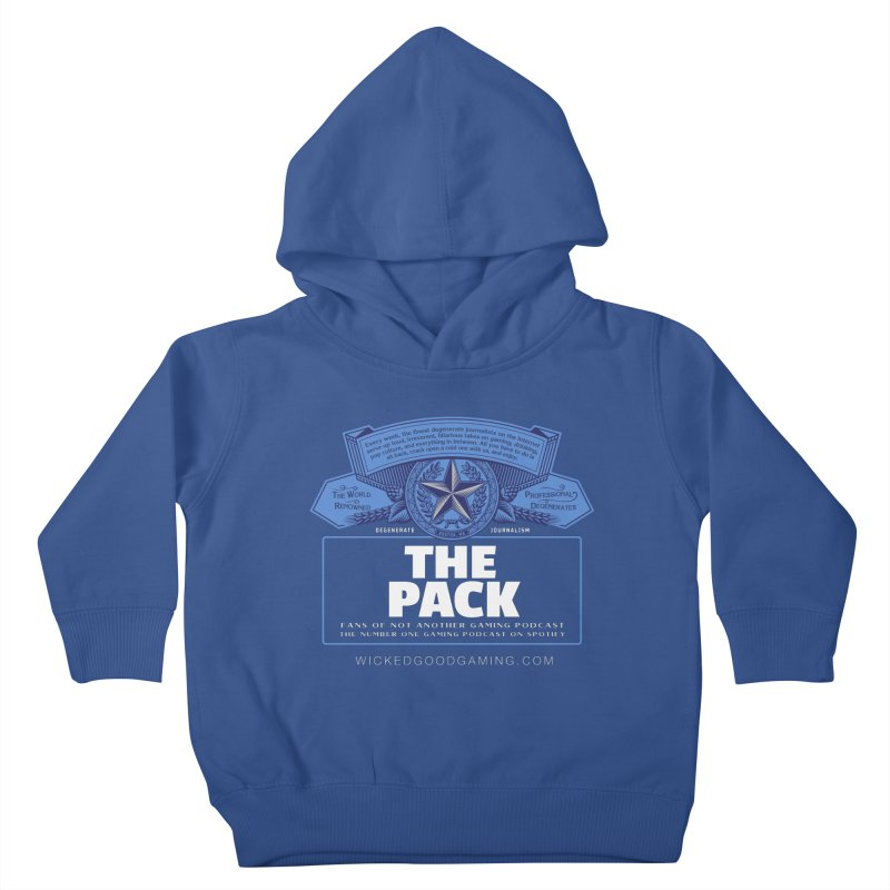 The Pack Kids Toddler Pullover Hoody by The Wicked Good Gaming Shop