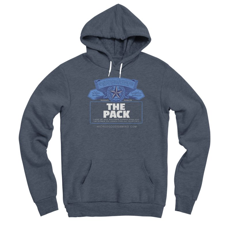 The Pack Men's Pullover Hoody by The Wicked Good Gaming Shop