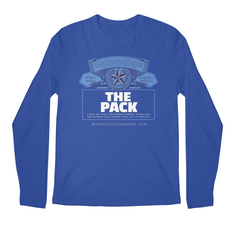 The Pack Men's Longsleeve T-Shirt by The Wicked Good Gaming Shop