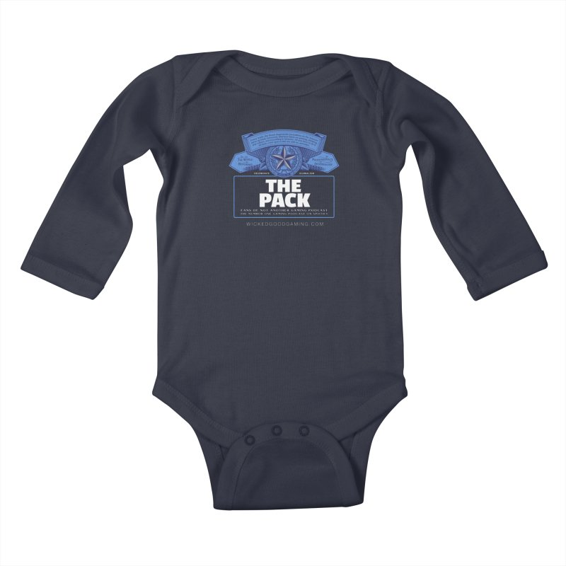 The Pack Kids Baby Longsleeve Bodysuit by The Wicked Good Gaming Shop