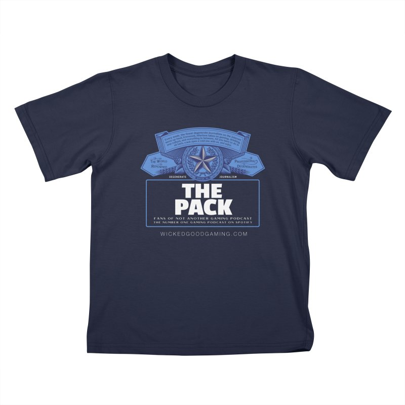 The Pack Kids T-Shirt by The Wicked Good Gaming Shop