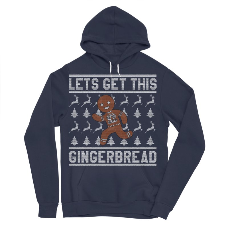 WGG Ugly Sweater 2018 Men's Sponge Fleece Pullover Hoody by The Wicked Good Gaming Shop