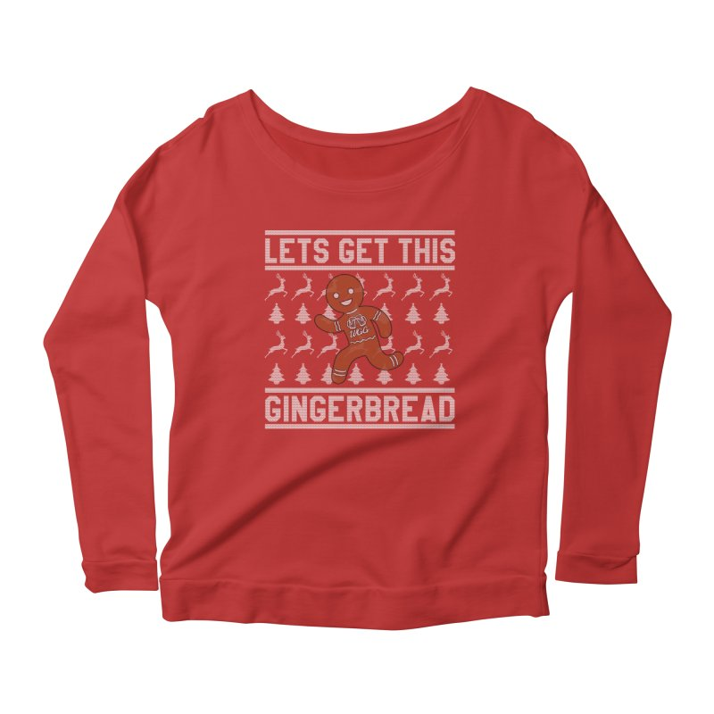 WGG Ugly Sweater 2018 Women's Scoop Neck Longsleeve T-Shirt by The Wicked Good Gaming Shop