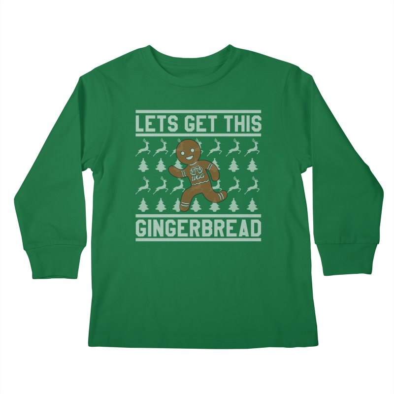 WGG Ugly Sweater 2018 Kids Longsleeve T-Shirt by The Wicked Good Gaming Shop