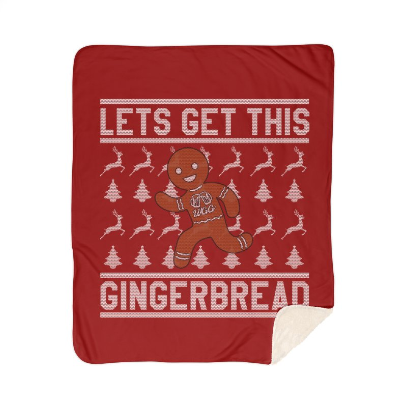 WGG Ugly Sweater 2018 Home Sherpa Blanket Blanket by The Wicked Good Gaming Shop