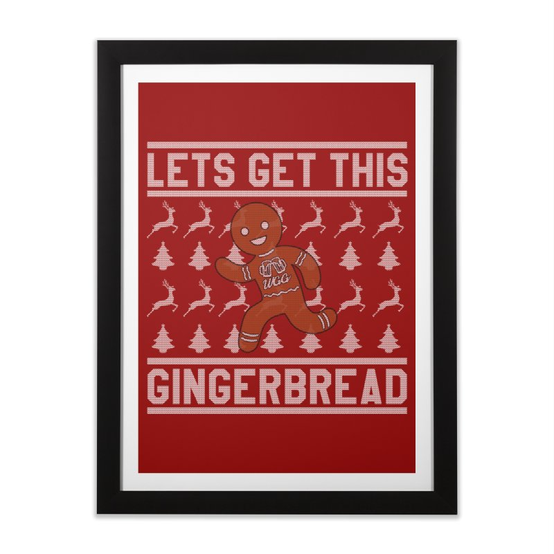 WGG Ugly Sweater 2018 Home Framed Fine Art Print by The Wicked Good Gaming Shop