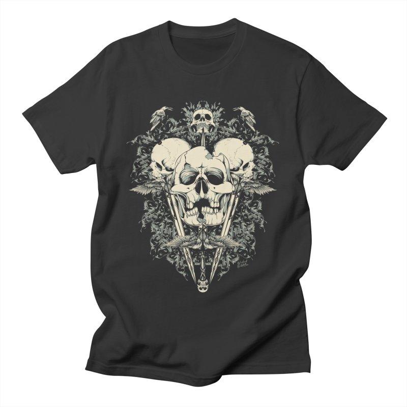 Skulls and Swords Men's T-Shirt by Wicked Oddities
