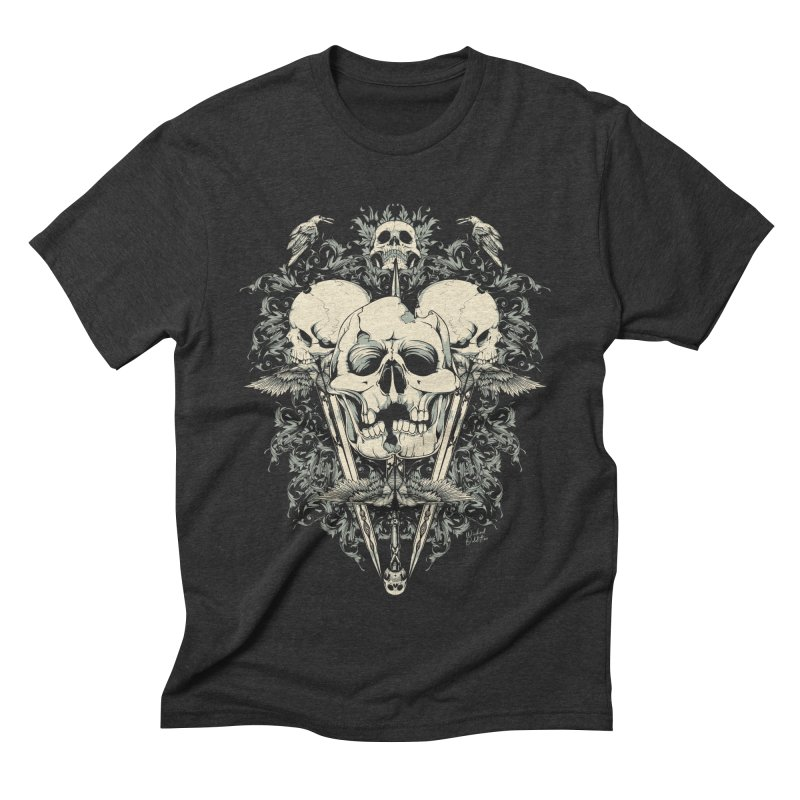 Skulls and Swords Men's T-Shirt by Wicked Oddities