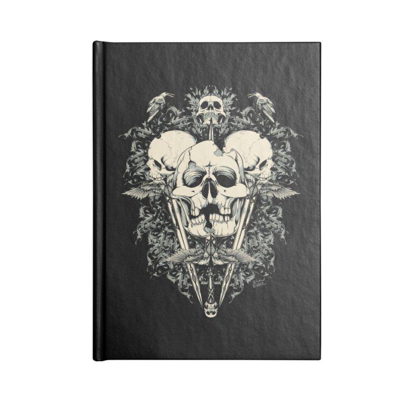 Skulls and Swords Accessories Notebook by Wicked Oddities