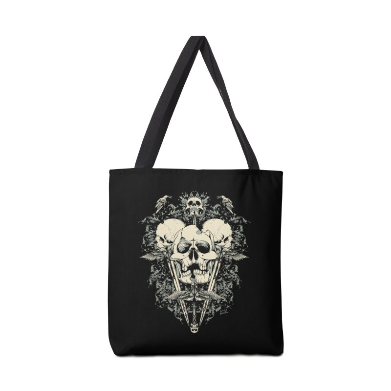 Skulls and Swords Accessories Bag by Wicked Oddities