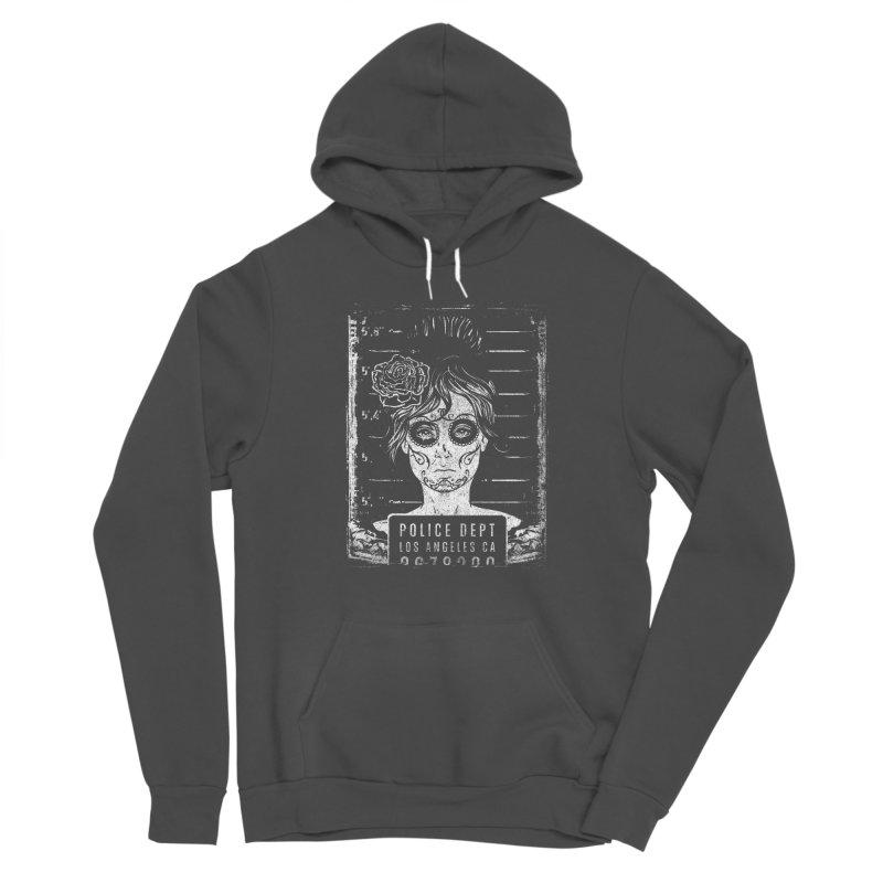 Muerte Mugshot Women's Pullover Hoody by Wicked Oddities