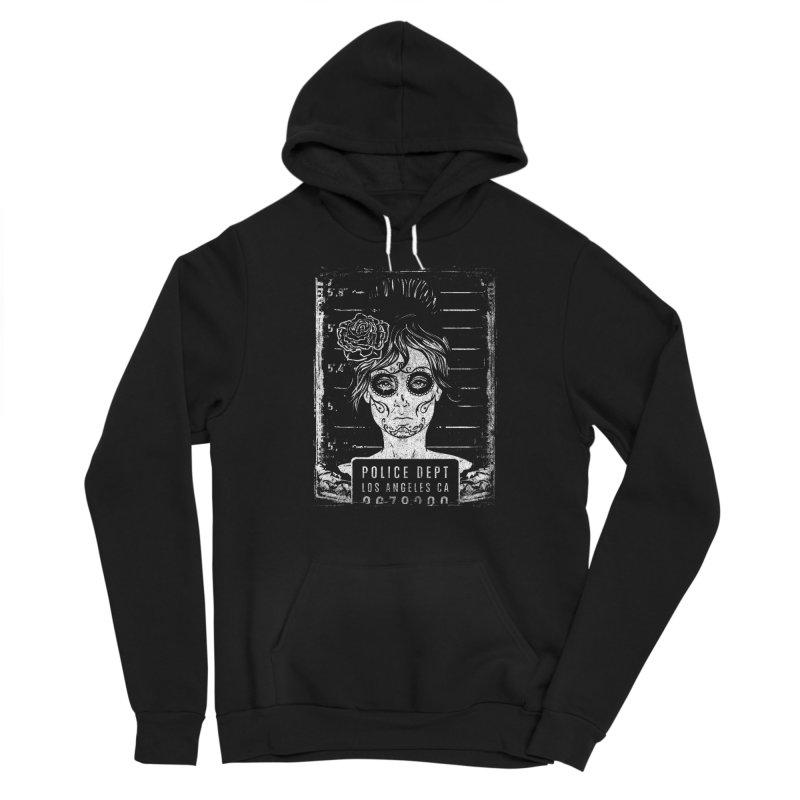 Muerte Mugshot Men's Pullover Hoody by Wicked Oddities