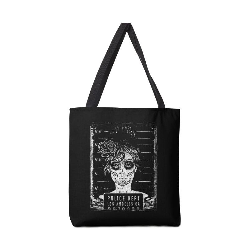 Muerte Mugshot Accessories Bag by Wicked Oddities
