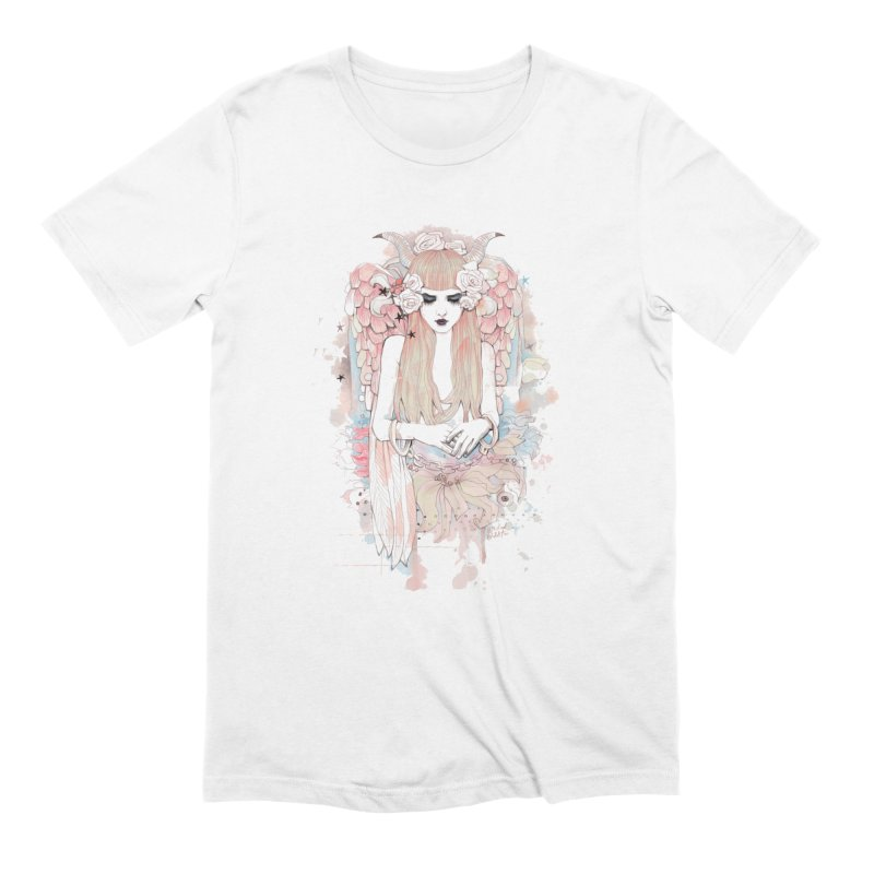 Shackled in Men's Extra Soft T-Shirt White by Wicked Oddities