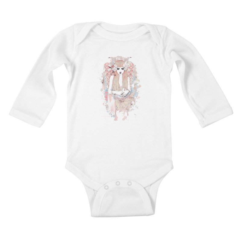 Shackled Kids Baby Longsleeve Bodysuit by Wicked Oddities